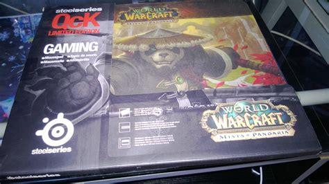 187 test tapis de souris steelseries qck world of warcraft mists pandaria pc