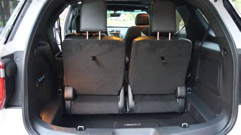 2017 Ford Explorer 3rd Row Power Fold Bench Seat