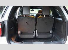 2017 Ford Explorer 3rd row power fold bench seat YouTube