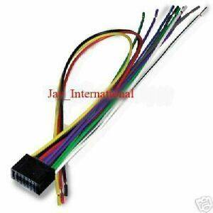 Kenwood Car Stereo Wiring Diagrams Kdc X591 : kenwood excelon 16 pin radio stereo wiring harness cable ~ A.2002-acura-tl-radio.info Haus und Dekorationen