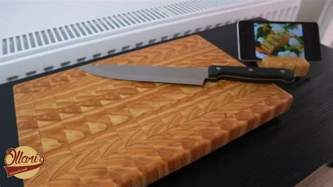 Making An End Grain Cutting Board With Matching Phone