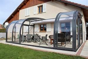 Abri De Terrasse : abri de terrasse coulissant et veranda retractable ~ Premium-room.com Idées de Décoration