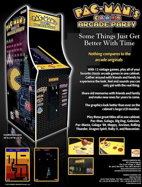 Bandai Namco Amusement America Arcade Game Pac Mans