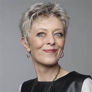 Coupe Courte Femme Cheveux Gris : cheveux gris courts ~ Melissatoandfro.com Idées de Décoration