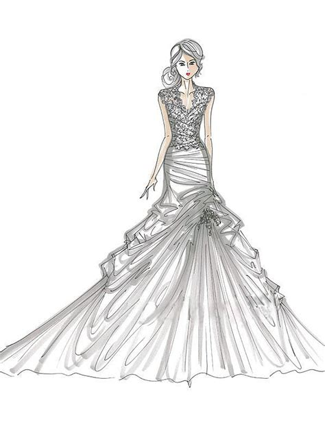 design a dress fashion design of dresses coloring pages