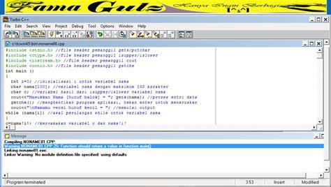Contoh perangkat lunak bahasa seperti ini adalah pascal,c,dan masih banyak lagi.sedangkan interpreter menterjemahkan instruksi contoh software ini, al; Contoh Program C++ Mengubah Huruf Besar-Kecil & Kecil-Besar | Fama Gulz