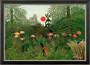 Henri Rousseau Jungle Landscape