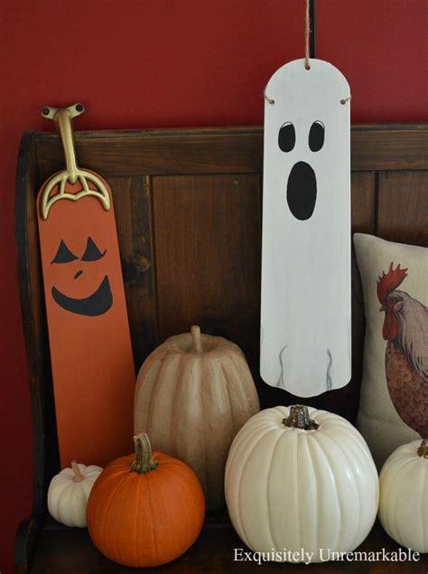 ceiling fan blade halloween ghost  pumpkin