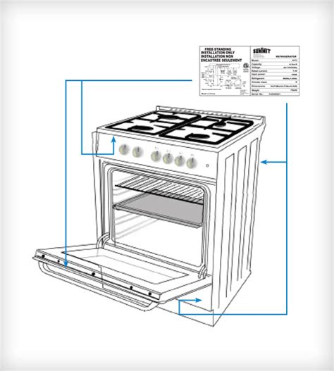 Kitchen Appliances Replacement Parts by Replacement Parts Summit Appliance