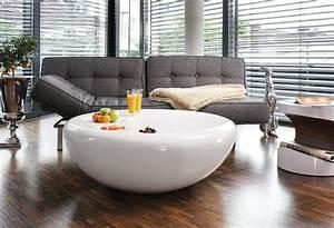 Couchtisch Oval Weiß Hochglanz : salesfever couchtisch wei hochglanz rund strice otto ~ Bigdaddyawards.com Haus und Dekorationen