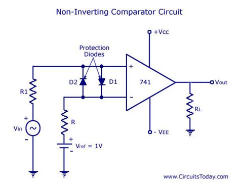 Amp Comparator Circuit Diagram Schematic Design