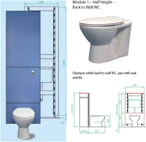 what is the standard size of a toilet ips panels integrated plumbing systems cubicle systems