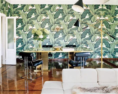 martinique banana palm leaf beverly hotel wallpaper california wallpaper