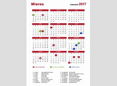 ¿Cuándo cae Semana Santa? Vacaciones y festivos en Mieres