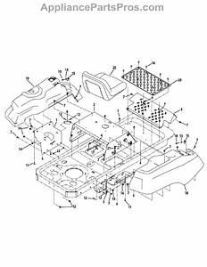 Parts For Murray 17ac2acs058    2012  Operator U0026 39 S Platform