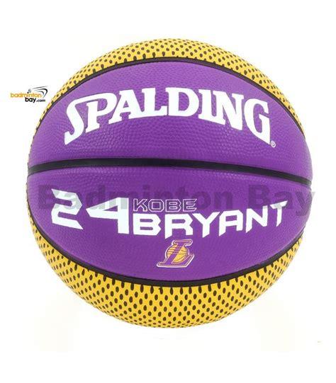 Genuine Spalding NBA LA Los Angeles Lakers 24 Kobe Bryant ...