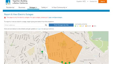 power restored    pge customers  berkeley