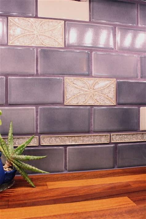 purple kitchen backsplash violet tile backsplash julie 39 s kitchen purple kitchen