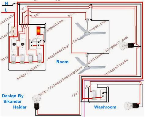 wire a room and washroom in home wiring electrical online 4u