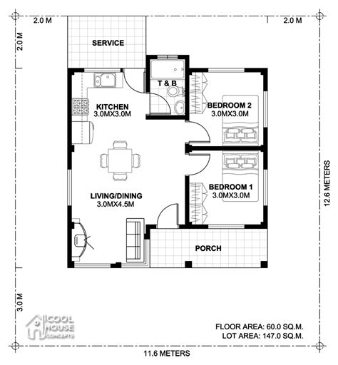 2 bedroom small house plans two bedroom small house plan cool house concepts