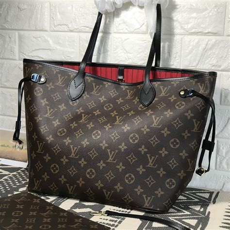 louis vuitton lv neverfull mm woman shopping bag monogram