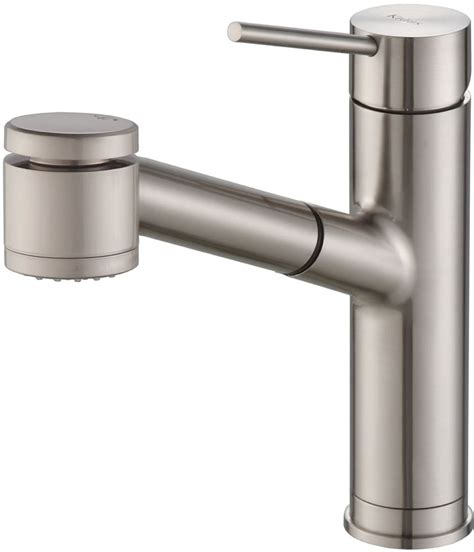 reach kitchen faucet kraus kpf2610ss single lever pull out kitchen faucet with