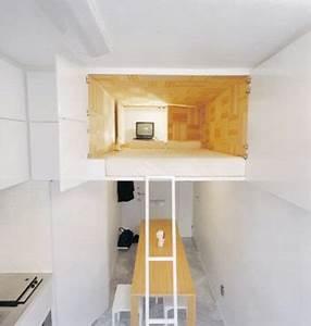 Lösungen Für Kleine Schlafzimmer : kleine wohnung einrichten mit hochbett einrichtungsideen ~ Michelbontemps.com Haus und Dekorationen