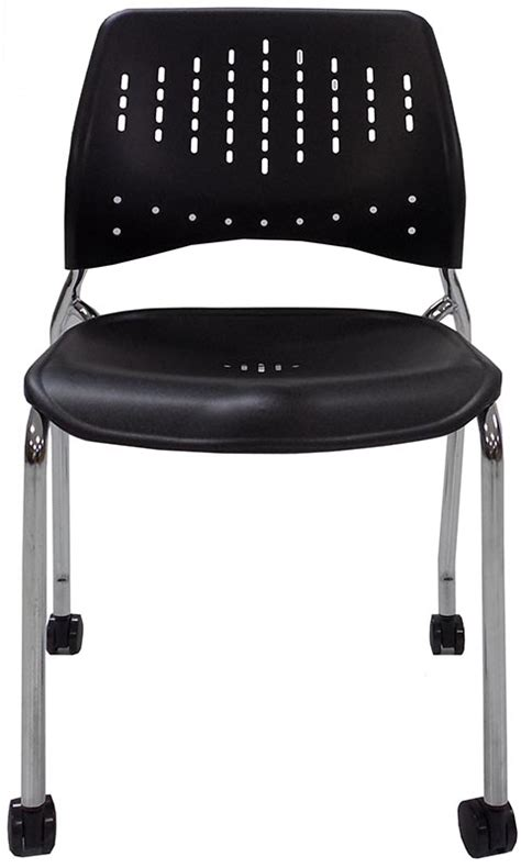 Office Chair 300 Lb Capacity by 300 Lb Capacity Mobile Stacking Guest Chair