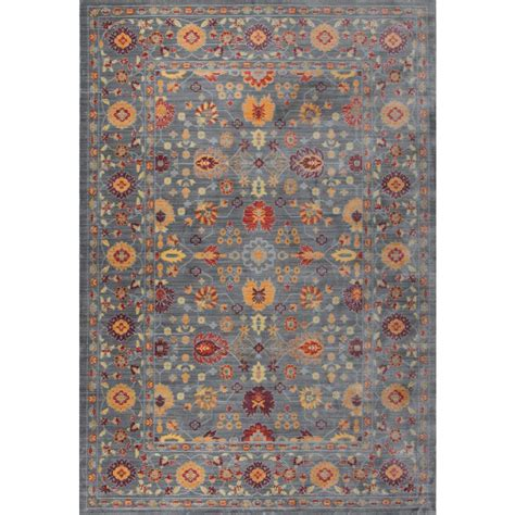 5 8 Area Rugs by Tayse Rugs Heritage Spice 5 Ft 3 In X 8 Ft Area Rug