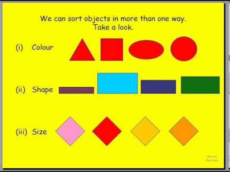 grade 2 1 1 math sorting and patterning part 2