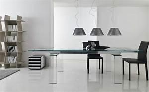 Table Haute En Verre : la table en verre un l ment incontournable du salon design ~ Teatrodelosmanantiales.com Idées de Décoration