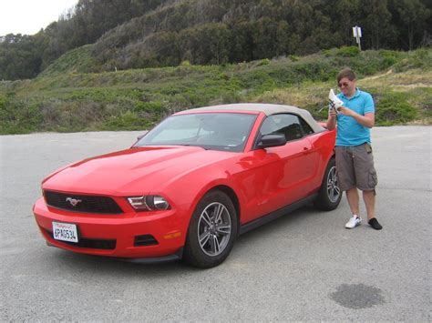 Dollar Rent A Car Ford Mustang
