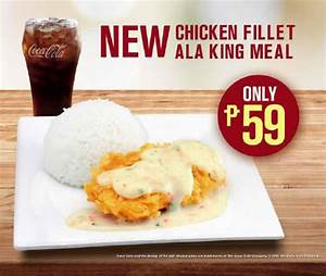 McDonald's Introduces New Chicken Fillet ala King
