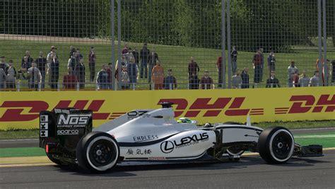 lexus racing team lexus f1 team package racedepartment
