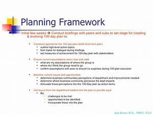 100 day plan for directing a pmo With first 100 days plan template