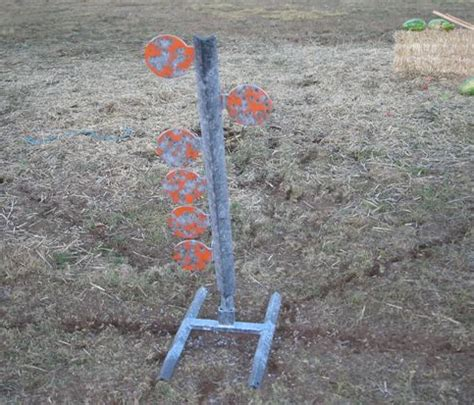 armored dueling tree armored steel reactive target  target