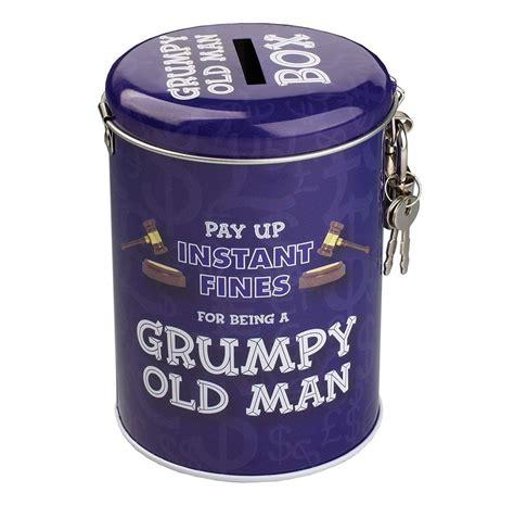 money box grumpy  man gifts  readers interiors uk