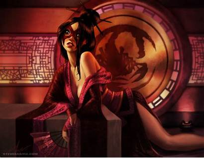 Bayushi Argyle Steve Rings Legend Kachiko L5r