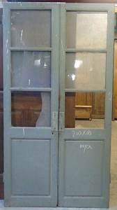 porte interieure ancienne vitree 2 vantaux With porte de garage et porte intérieure vitrée 2 vantaux