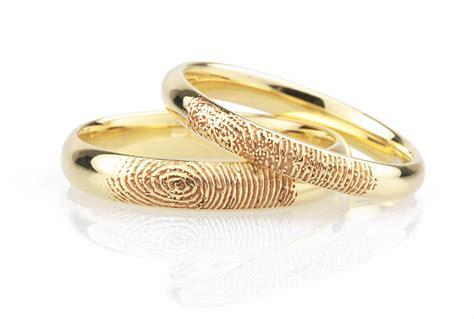 fingerprint wedding ring fingerprint wedding rings unique fingerprint rings in 5 easy steps