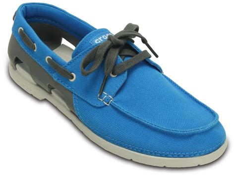Crocs Boat Shoes Online by Crocs Beach Line Beige Boat Shoes For Men Online In India