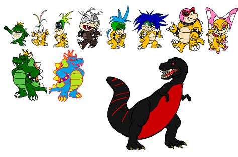 Concept Art Blog: Super Prince Jr Koopa and Koopalings ...