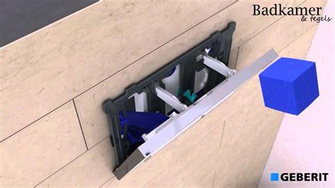 vlotter geberit afstellen geberit duofresh inbouwreservoir