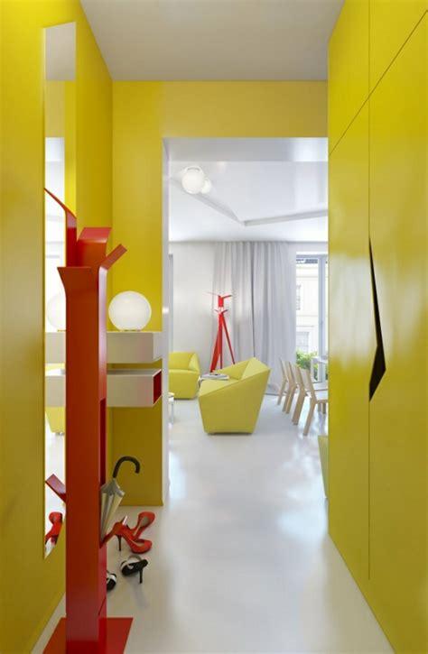 Flur Gestalten Gelb by 1001 Schmaler Flur Ideen Zur Optimaler Einrichtung