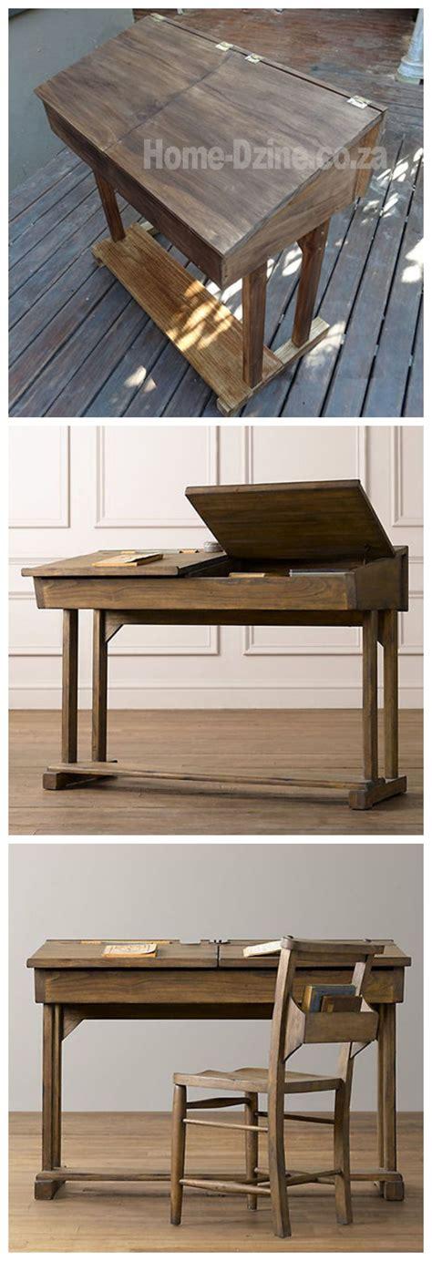 flip top reproduction school desk  child woodworking