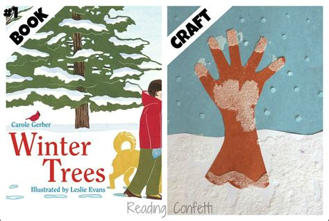 25 winter books and crafts for reading confetti 838 | winter tree 2