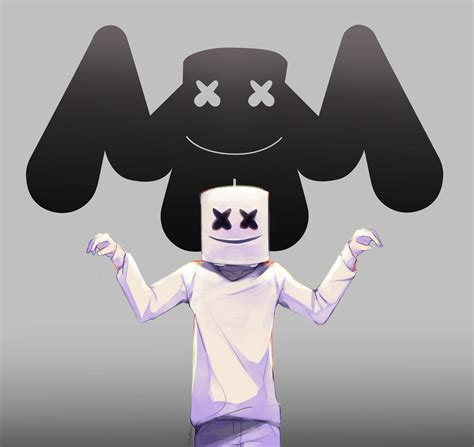 Marshmello Dj Wallpaper Cartoon