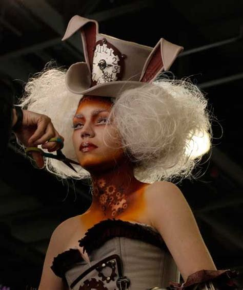 mad style hair 25 best ideas about white rabbit makeup on 2206