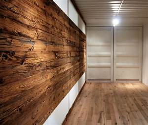 Pioneer Millworks outfitted shipping containers with