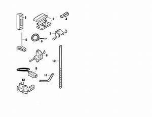 Chamberlain Model 1255r Garage Door Opener Genuine Parts